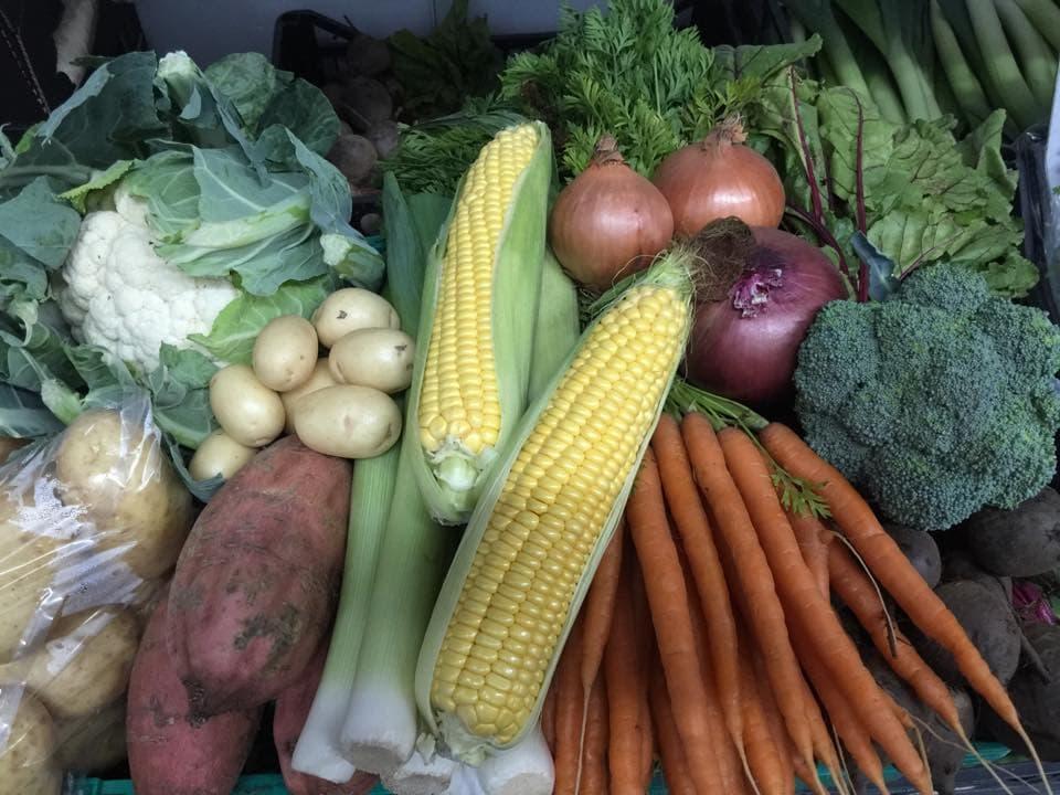 mixed veg selection